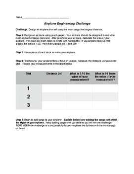 Airplane Engineering Challenge