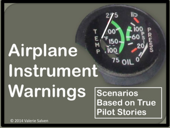 Airplane Instrument Warning Scenarios Based on True ASRS  Pilot Reports
