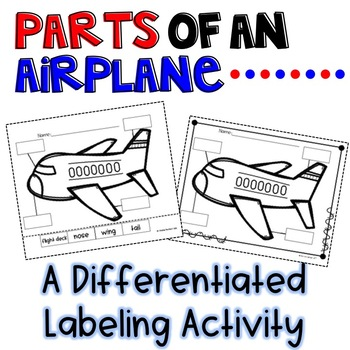 Airplane Labeling Activity