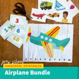 Airplane Math + Story Bundle