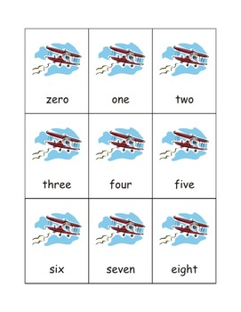 Airplane Number Games: 0-25 eBook