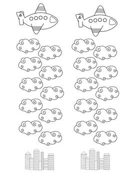 Airplane Sticker Chart