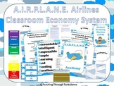 Airplane Themed Classroom Economy System