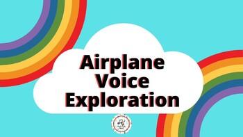 Airplane Voice Exploration Cards