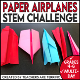 STEM Engineering Activity Paper Airplanes!