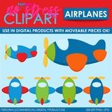Airplanes Clip Art (Digital Use Ok!)