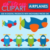 Airplanes Clip Art (Digital Use Ok!)