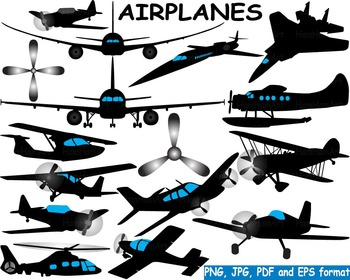 Airplanes Silhouette Clip art black military helicopter Ai