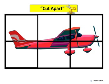 """""""Airplanes"""" Simple Puzzles for Autism"""