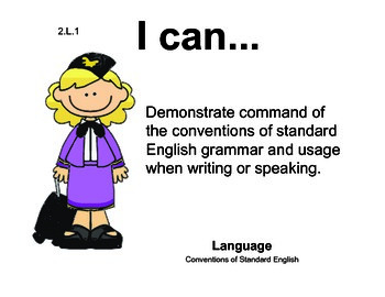 Airport 2nd grade English Common core standards posters