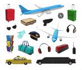 Airport Clip Art - Wanderlust Travel PNG Graphics