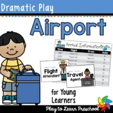 Airport Dramatic Play
