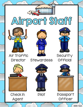Airport Dramatic Play and Writing Center
