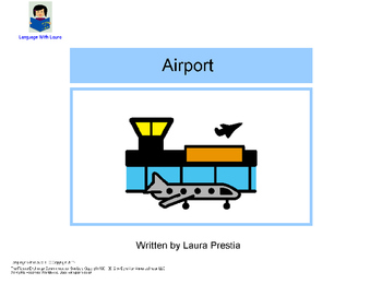 Airport - Interactive Book [speech therapy and autism]