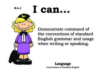 Airport Kindergarten English Common core standards posters