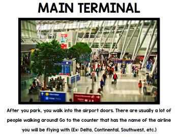 Airport - Travel - Life Skills - Special Education - Vocabulary - Bundle
