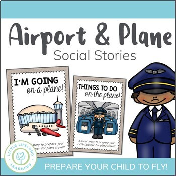 Airport and Plane Social Stories for Flying and Airplane Travel