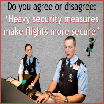 Airport security - ESL adult and kid conversation classes