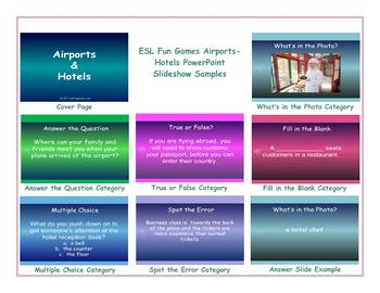 Airports-Hotels PowerPoint Slideshow