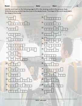 Airports-Hotels Word Shapes