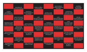 Airports and Hotels Spanish Checker Board Game