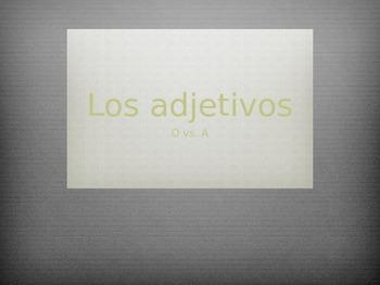 Ajectivos