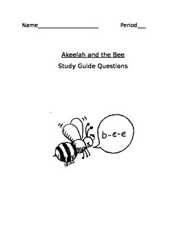 akeelah and the bee discussion questions and answers