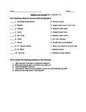 Akeelah and the Bee Chapters 1-3 quiz
