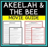 Akeelah and the Bee- Movie Guide Questions, great for AVID