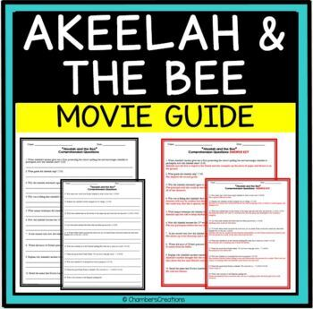 Akeelah And The Bee Worksheets Teaching Resources TpT