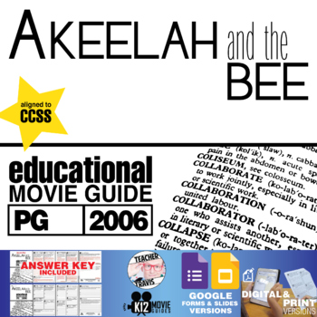 Akeelah and the Bee Movie Guide | Questions | Worksheet (PG - 2006)