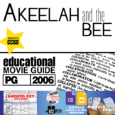 Akeelah and the Bee Movie Guide   Questions   Worksheet (PG - 2006)