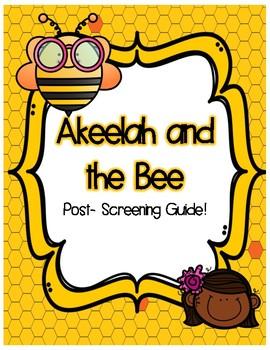 Akeelah and the Bee Post Viewing Bundle!