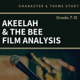 Akeelah and the Bee - Story Elements Film Analysis