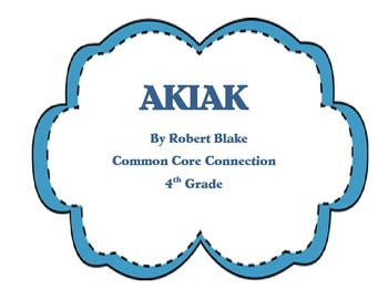 Akiak Houghton Mifflin Reading games, worksheets, and comprehension