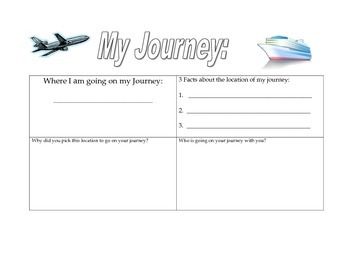 Akiak Journey-Journal Activity