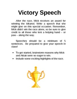 Akiak Victory Speech