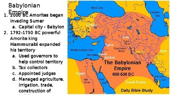 Akkadian and Babylonian Empires PPT