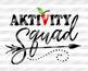 Aktivity squad svg Back to School svg Teacher svg