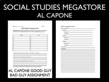 Al Capone 1920's US History
