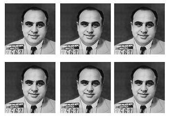 Al Capone Comic Strip and Storyboard