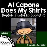 Al Capone Does My Shirts Novel Study: vocabulary, comprehension, writing, skills