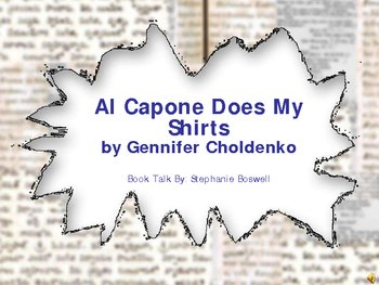 Al Capone Does My Shirts Booktalk