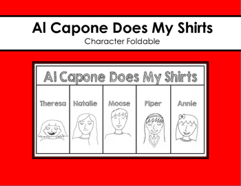 Al Capone Does My Shirts Character Foldable