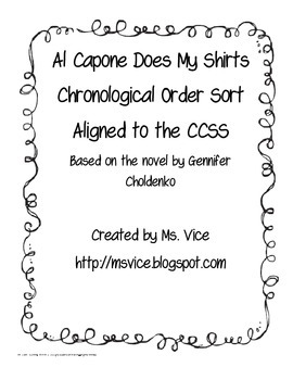 Al Capone Does My Shirts Chronological Order Sort