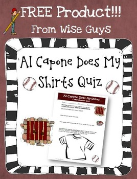 Al Capone Does My Shirts questions Flashcards | Quizlet