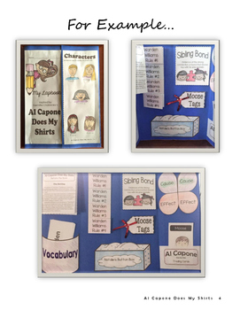 Al Capone Does My Shirts Lapbook