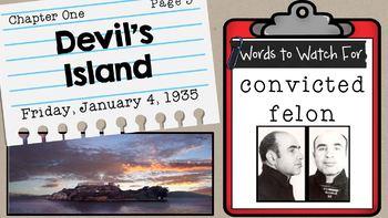 Al Capone Does My Shirts Novel Sidekick Powerpoint Visual Aid