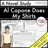 Al Capone Does My Shirts Novel Study Unit Distance Learning