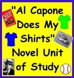"""Al Capone Does My Shirts"" Novel Unit"